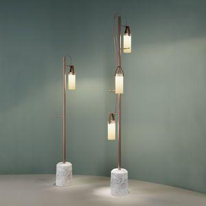 Stehleuchte / modern / Metall / LED - LUMINATOR by Pietro Chiesa ...
