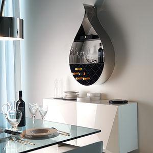Wandregal design glas  Edelstahlregal - alle Hersteller aus Architektur und Design - Videos