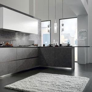 Moderne Küche / Laminat / lackiert / Hochglanz - CRETA CORNER by ...