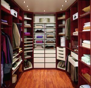 Begehbarer -Kleiderschrank / aus Eiche - alle Hersteller aus ...