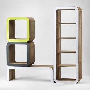 Steckregal design  Regal / originelles Design - alle Hersteller aus Architektur und ...