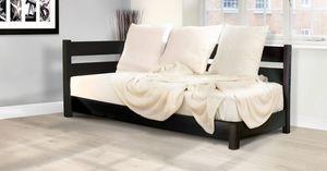 Modernes Sofa / Holz / Mit Etagenbett / Handgefertigt