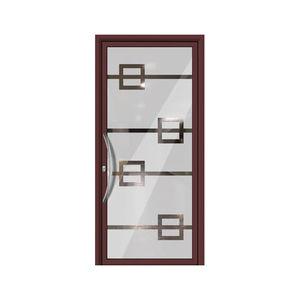 Exceptional Isolierende. Eingangstür / Einflügelig / Aluminium / Mit Wärmedämmung