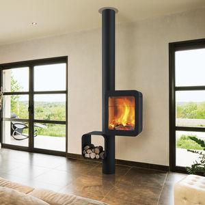 Great Holz Kaminofen / Gas / Modern / Stahl