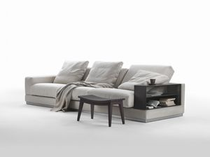 Modulierbares Sofa / Eck / Modern / Stoff Photo