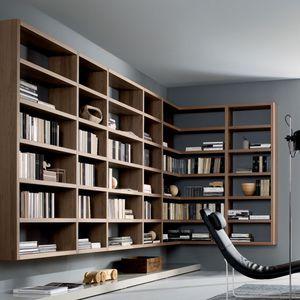 Moderne Bibliothek, Moderne Bücherregal - alle Hersteller aus ...