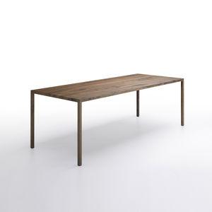 Perfekt Moderner Tisch / Aus Eiche / Rechteckig / Quadratisch