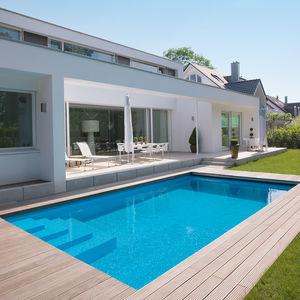 Erdverlegtes Schwimmbecken - alle Hersteller aus Architektur und ...