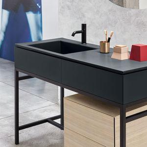 Holz-Waschtischunterschrank - alle Hersteller aus Architektur und ... | {Waschtischunterschrank holz 38}