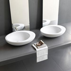 Aufsatzwaschbecken oval mit hahnloch  Aufsatzwaschbecken - alle Hersteller aus Architektur und Design ...
