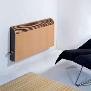Heißwasser Heizkörper / Mit Niedriger Temperatur / Holz / Modern
