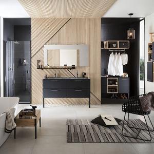 Modernes Badezimmer / Glas / Lackiert / Kundenspezifisch