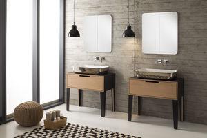 Waschtischunterschrank holz  Holz-Waschtischunterschrank - alle Hersteller aus Architektur und ...