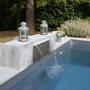Marvelous Wasserfall Für Pool Nice Design