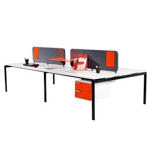 Schreibtisch Für Open Space / Chef / Holz / Metall