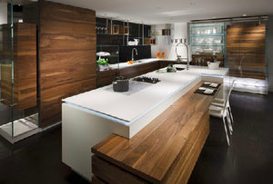 Moderne Einbauküchen Holz | poolami.com | {Moderne küche holz 3}