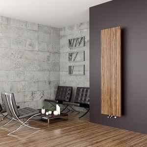 Heißwasser Heizkörper / Metall / Holz / Modern