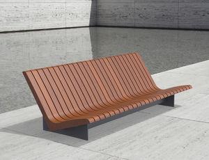 Gartenbank modern holz  Gartenbank - alle Hersteller aus Architektur und Design - Videos