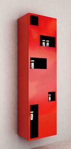 Säulenschrank für Badezimmer / modern - MOD. TETRIX COLONNA PER ...