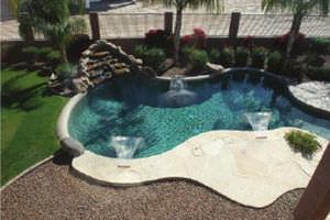 Pool Mit Wasserfall wasserfall für pool alle hersteller aus architektur und design