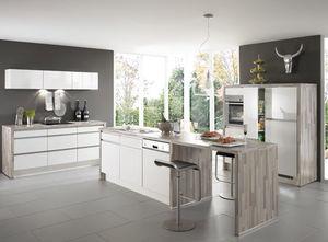 Moderne Küche / Holz / lackiert / Hochglanz - HIGHLIGHT 785 - nobilia