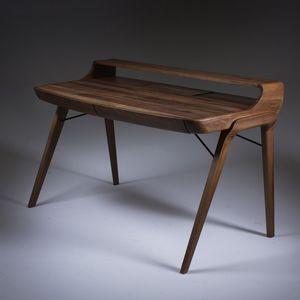 Schreibtisch Aus Eiche / Nussbaum / Massivholz / Aus Kirschbaum