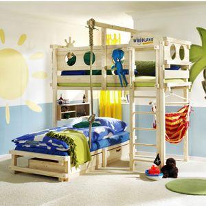 eck etagen bett einzel modern fr kinder jungen und mchen - Betten Fur Kleinkinder