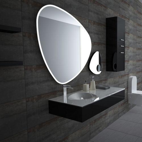 Wandmontierter Spiegel Für Badezimmer / LED Beleuchtet / Rasier /  Originelles Design