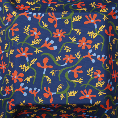 Möbelstoff / Gardinen / Blumenmotive / aus Acryl