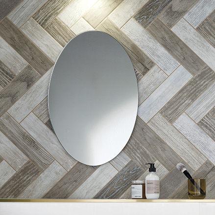 Fliesen für Badezimmer / Wand / Feinsteinzeug / rechteckig