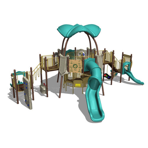 Spielplatzgerät für Spielplätze / Kunststoff