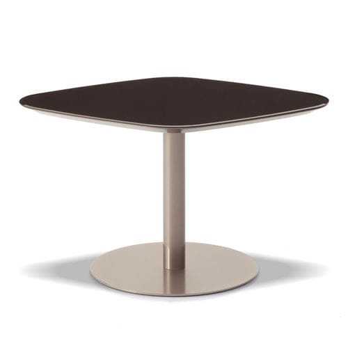 moderner Tisch / Holz / Metall / Laminat