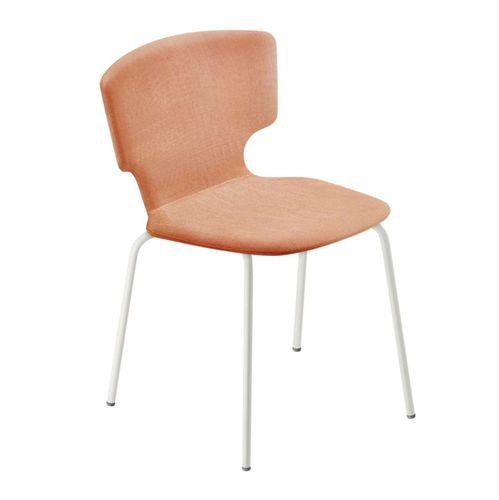 moderner Stuhl / Stapel / Polster / mit Rollen