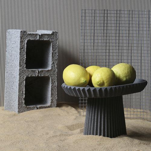 Beton-Tischdekoration