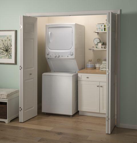bodenstehender Waschtrockner / Etagen