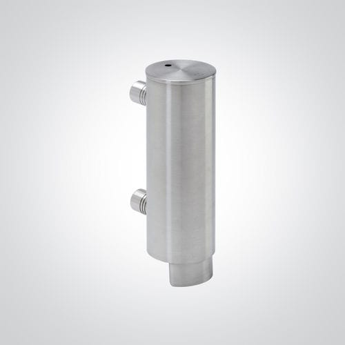 Objektmöbel-Seifenspender / wandmontiert / Edelstahl / manuell