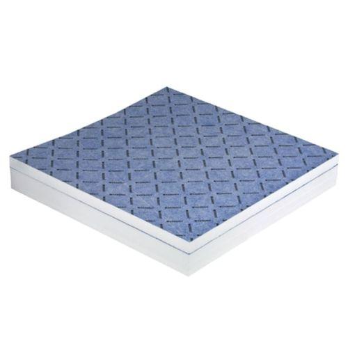 quadratische Duschwanne / Verbundwerkstoff / rutschfest