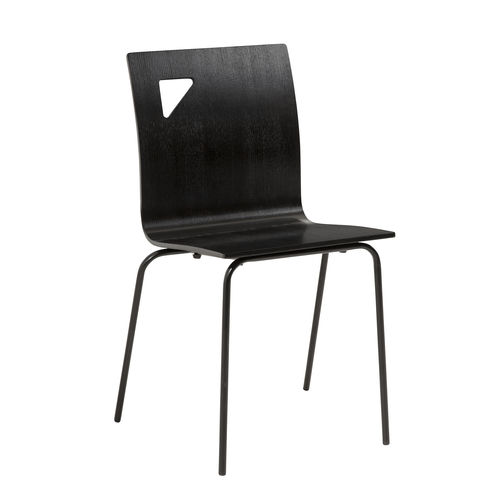 moderner Stuhl / Stapel / für Kinder / Standard-Fußgestell