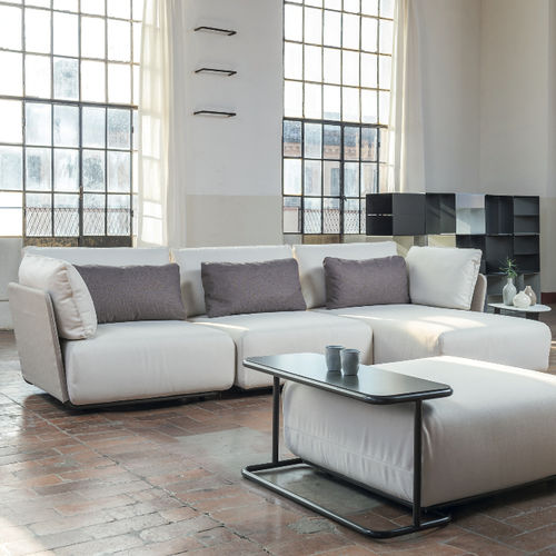 modulierbares Sofa / modern / für Empfangsbereich / Stoff