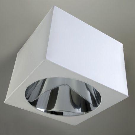 moderne Deckenleuchte / quadratisch / Seide / LED