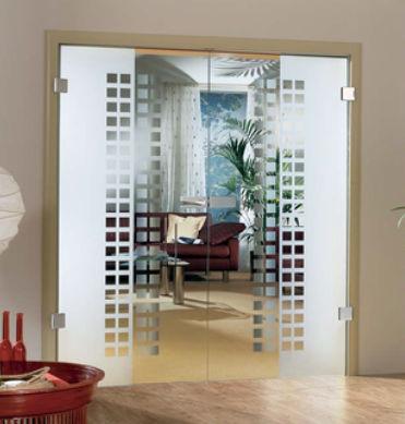 Doppelflügeltür innen  Doppelflügeltür / für Innenbereich / einflügelig / Glas - MASTER ...