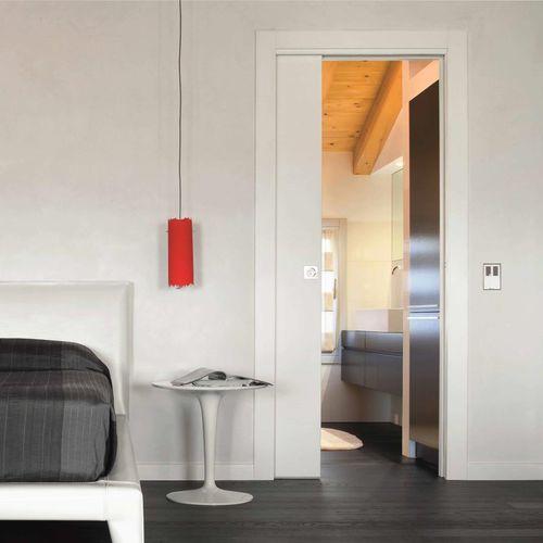 Innenbereich-Tür / Einbaukasten / Holz / Glas