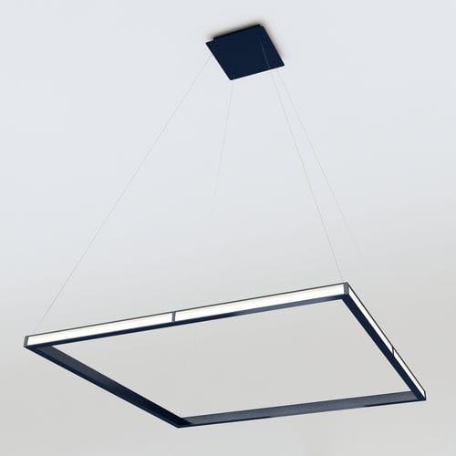 Hängelampe / modern / Polycarbonat / Aluminium