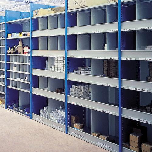 Regalsystem für Lagerung / für Geschäfte / für Waren / Standard