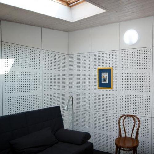Akustikplatte für Decken / für Trennwandsysteme / für Innenwand / für Fassadenelemente
