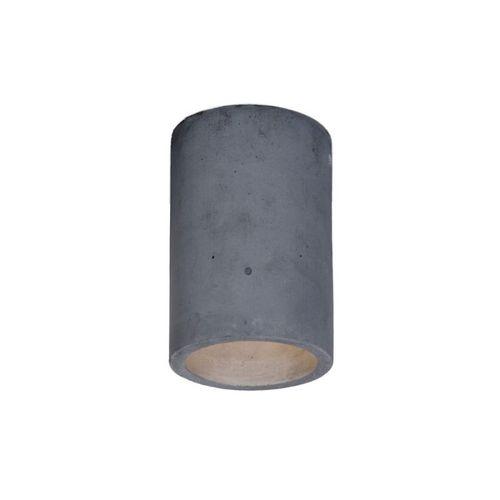 moderne Deckenleuchte / rund / Beton / LED