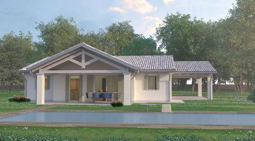 Fertigbauhaus / Modul / modern / aus Holz SIVIGLIA Bio house