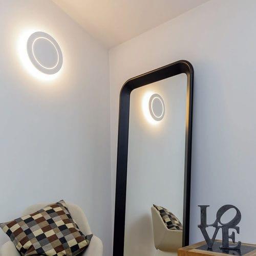 Moderne Wandleuchte / Außen / aus anodisiertem Aluminium / LED BARON OGGI LUCE