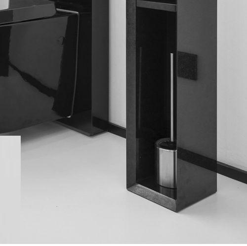 Metall-Toilettenbürste / für Böden