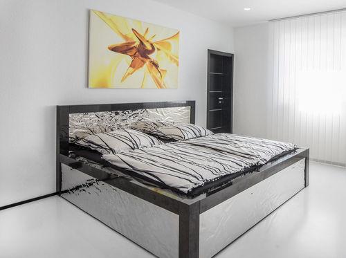 Doppelbett / modern / Kopfteil / nach Maß